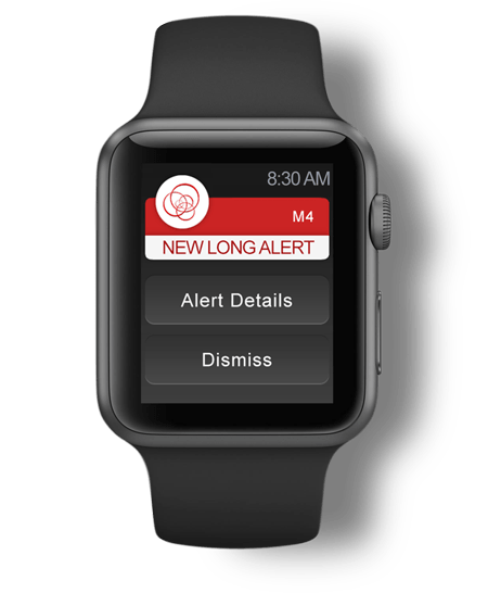 modulus apple watch stock alerts